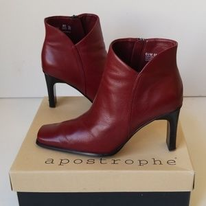 Apostrophe Ankle Boots 👢